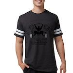 Funny Bodybuilding Squats Mens Football Shirt
