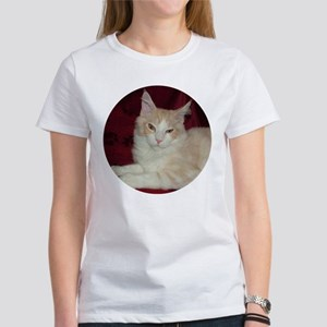 'Pink' Maine Coon Cat Comfy Women's T-Shirt