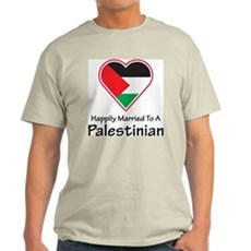 Happily Married Palestinian Light T-Shirt