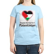 Happily Married Palestinian Women's Light T-Shirt