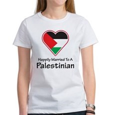 Happily Married Palestinian Women's T-Shirt