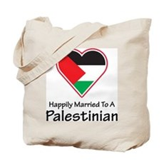 Happily Married Palestinian Tote Bag