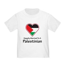 Happily Married Palestinian Toddler T-Shirt