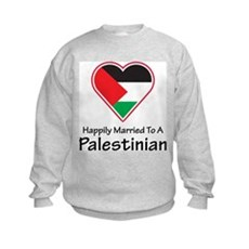 Happily Married Palestinian Kids Sweatshirt