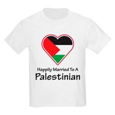 Happily Married Palestinian Kids Light T-Shirt