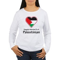 Happily Married Palestinian Women's Long Sleeve T-