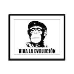 Viva La Evolucion Framed Panel Print