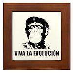 Viva La Evolucion Framed Tile
