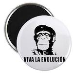 Viva La Evolucion Magnet