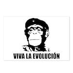 Viva La Evolucion Postcards (Package of 8)