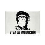 Viva La Evolucion Rectangle Magnet (100 pack)