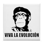 Viva La Evolucion Tile Coaster