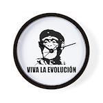 Viva La Evolucion Wall Clock