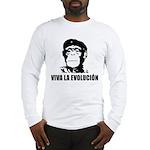 Viva La Evolucion Long Sleeve T-Shirt