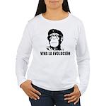 Viva La Evolucion Women's Long Sleeve T-Shirt