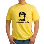 Viva La Evolucion Yellow T-Shirt