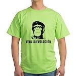 Viva La Evolucion Green T-Shirt