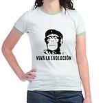 Viva La Evolucion Jr. Ringer T-Shirt