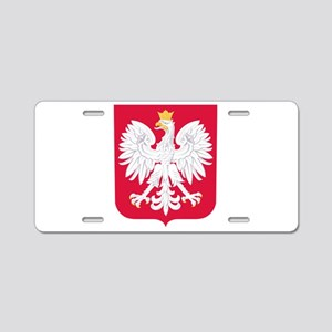 Poland Coat of Arms Aluminum License Plate