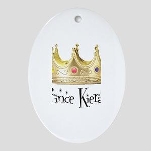 Prince Kieran Oval Ornament