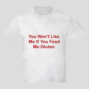 Won't Like Me - Gluten Kids Light T-Shirt