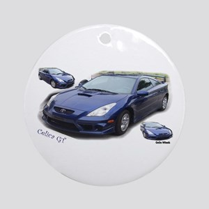 Celica GT Ornament (Round)