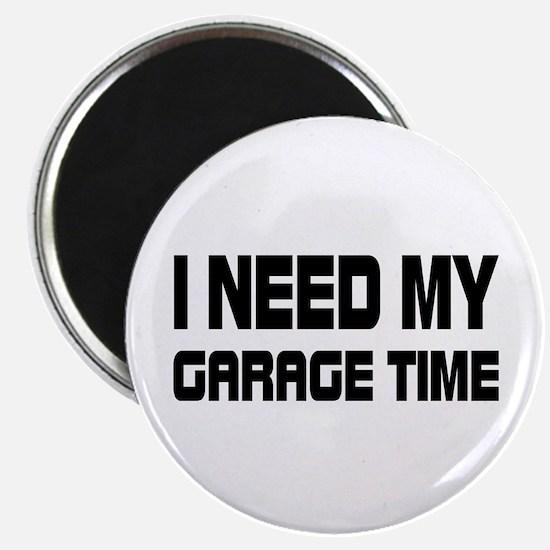 GARAGE TIME Magnet
