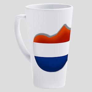 Dutch Clog 17 oz Latte Mug