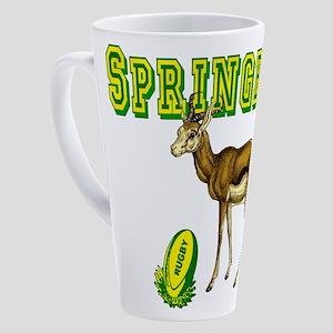 Springboks Rugby 17 Oz Latte Mug