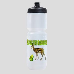 Springboks Rugby Sports Bottle