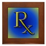 Pharmacy Rx Framed Tile