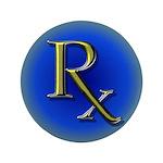"Pharmacy Rx 3.5"" Button"