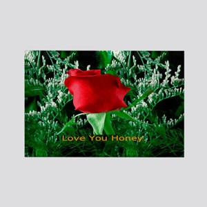 Valentines Day Gift Rectangle Magnet
