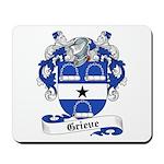 Grieve Family Crest Mousepad