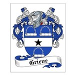 Grieve Family Crest Small Poster