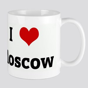 I Love Moscow Mug