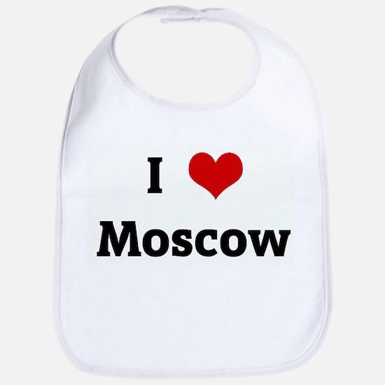 I Love Moscow Bib