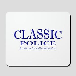 Classic Police Mousepad