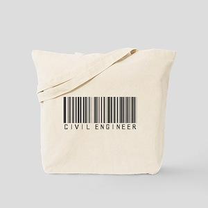 Civil Engineer Barcode Tote Bag