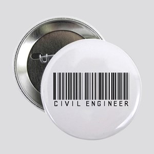 "Civil Engineer Barcode 2.25"" Button"