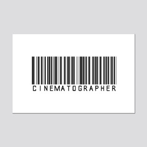 Cinematographer Barcode Mini Poster Print