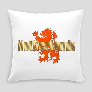 Netherlands Orange Lion Everyday Pillow