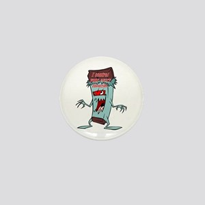 Chocolate Man - Thought Control Mini Button