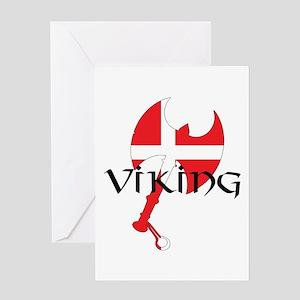 Denmark Viking Greeting Cards