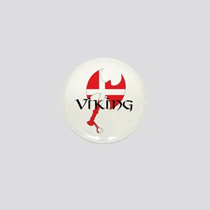 Denmark Viking Mini Button
