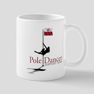 Pole Dancer Supporter HR Mugs