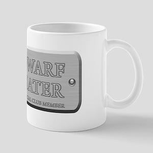 Brushed Steel - Dwarf Hater Mug
