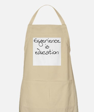 Experience is education BBQ Apron