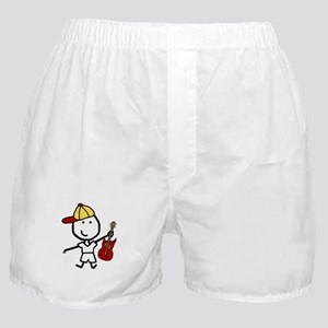 Boy & Electric Guitar Boxer Shorts