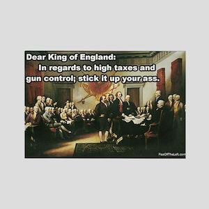 Declaration of Independence Rectangle Magnet